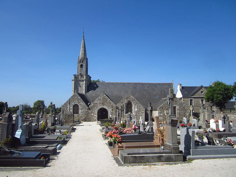 Photo du Monument Historique Eglise Saint-Méen situé à Tréméven