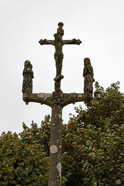 Photo du Monument Historique Calvaire de la chapelle Sainte-Catherine situé à Mespaul
