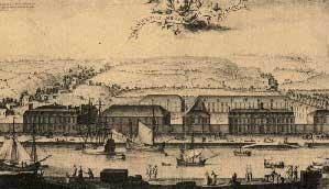 Photo du Monument Historique Manufacture des tabacs de Morlaix situé à Morlaix