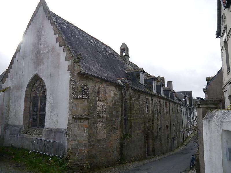 Photo du Monument Historique Ancien hôpital Frémeur situé à Quimperlé