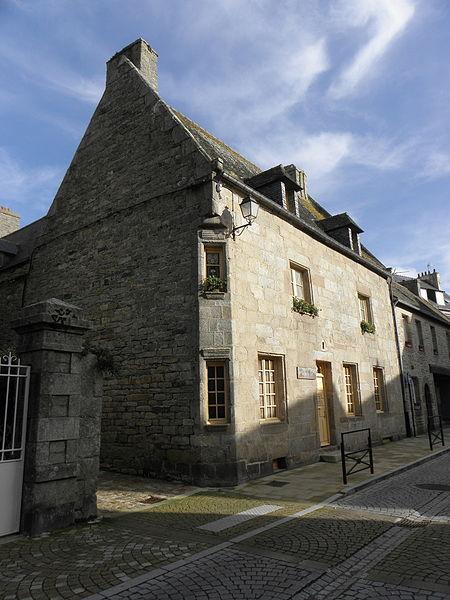 Photo du Monument Historique Maison situé à Roscoff