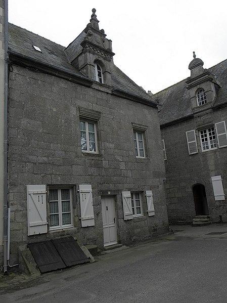 Photo du Monument Historique Demeure situé à Roscoff