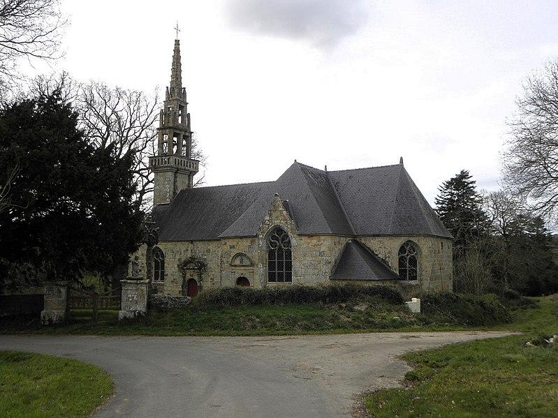 Photo du Monument Historique Ensemble cultuel de Trévarn situé à Saint-Urbain