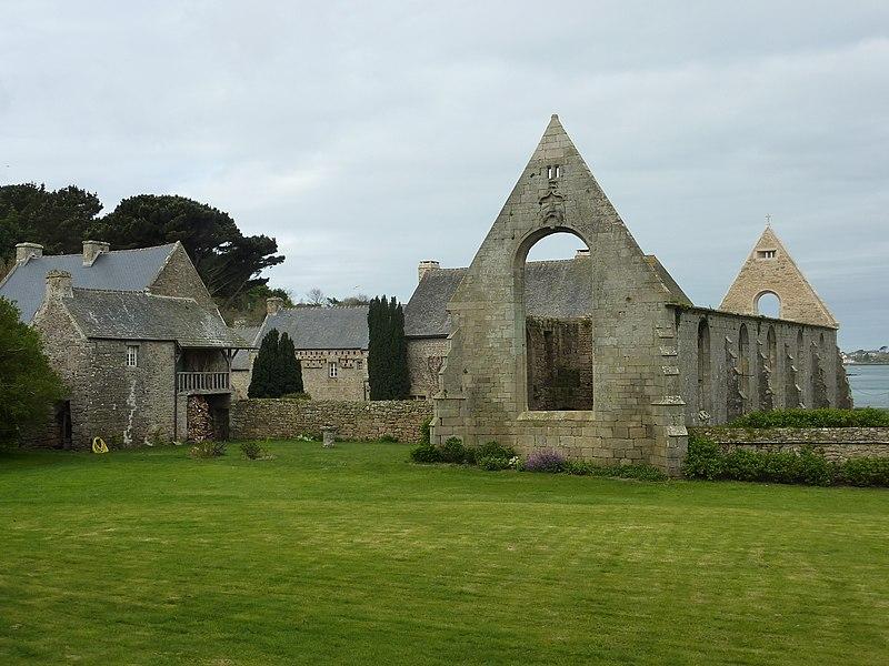 Photo du Monument Historique Ancien couvent Notre-Dame des Anges situé à Landéda