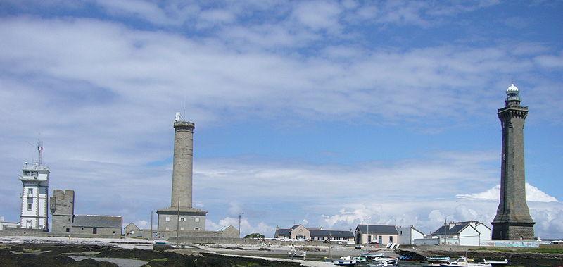 Photo du Monument Historique Phares de la pointe de Penmarc'h situé à Penmarch