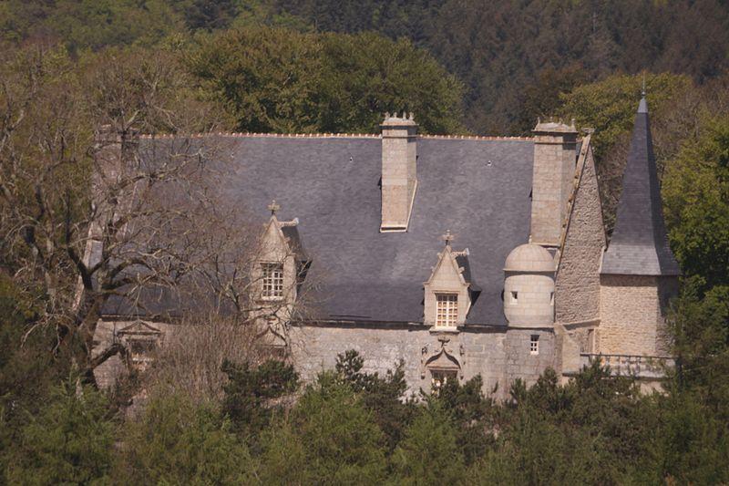 Photo du Monument Historique Manoir du Laz situé à Arzano