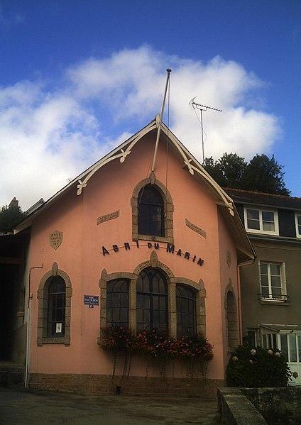 Photo du Monument Historique Abri du marin de Sainte-Marine situé à Combrit