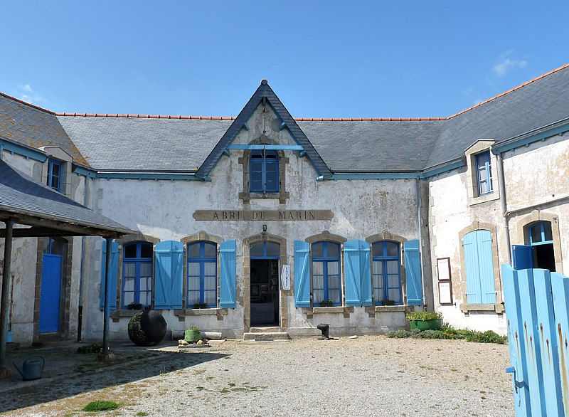 Photo du Monument Historique Ancien abri du marin (1906) actuel musée des Sénans situé à Ile-de-Sein