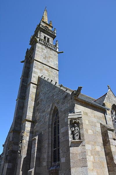 Photo du Monument Historique Eglise Sainte-Croix situé à Conquet (Le)