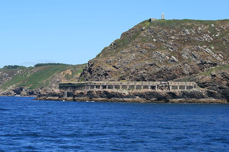 Photo du Monument Historique Batterie de Cornouaille situé à Roscanvel