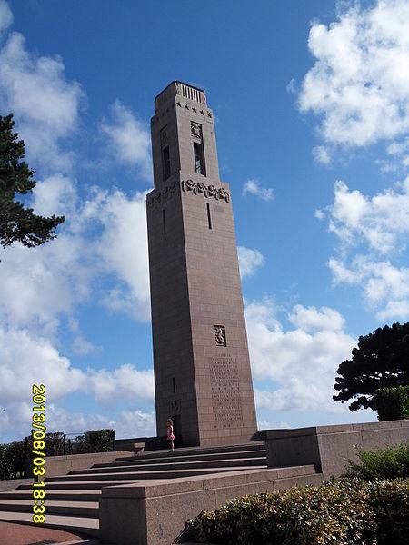 Photo du Monument Historique Naval Monument ou Mémorial américain de la Première Guerre mondiale situé à Brest