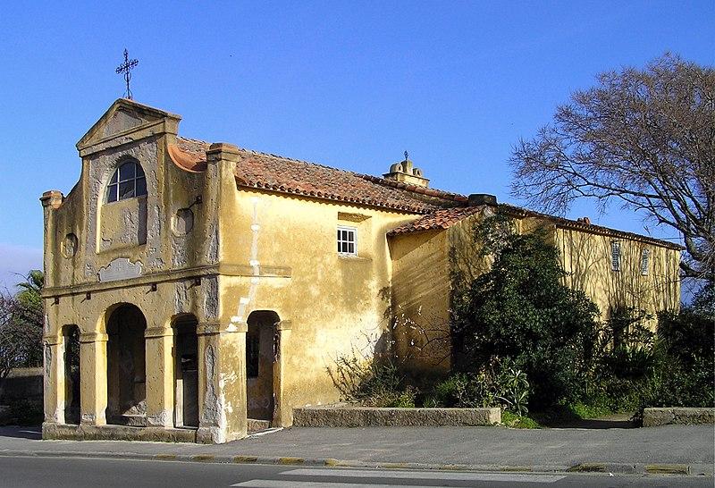 Photo du Monument Historique Chapelle des Grecs (Chapelle Notre-Dame-du-Mont-Carmel) situé à Ajaccio