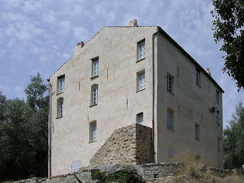 Photo du Monument Historique Maison des Milelli situé à Ajaccio