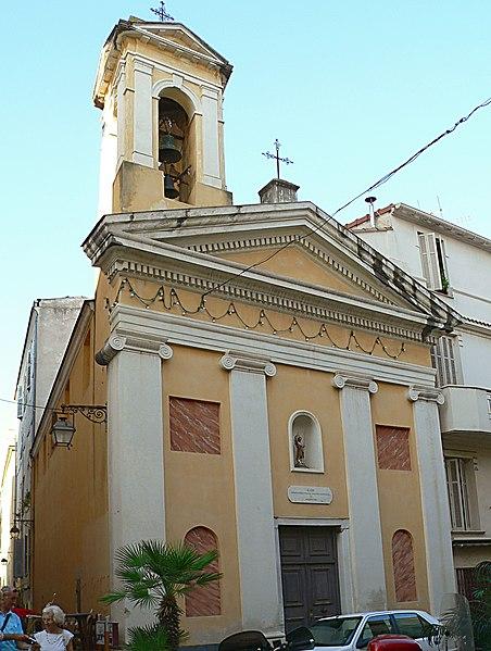 Photo du Monument Historique Oratoire Saint-Jean-Baptiste situé à Ajaccio