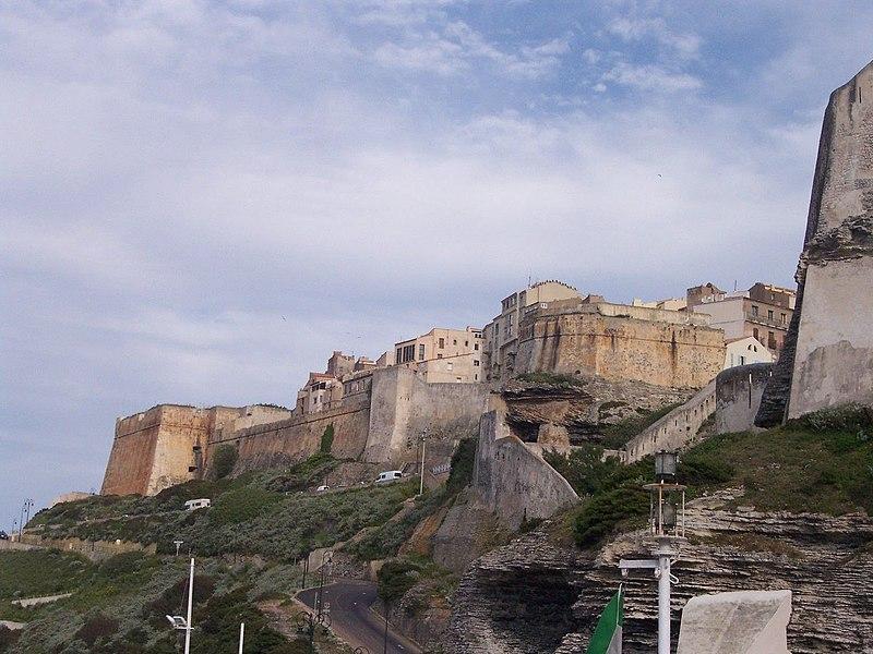 Photo du Monument Historique Citadelle situé à Bonifacio