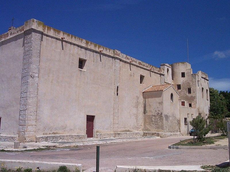 Photo du Monument Historique Ancien couvent Saint-François situé à Bonifacio
