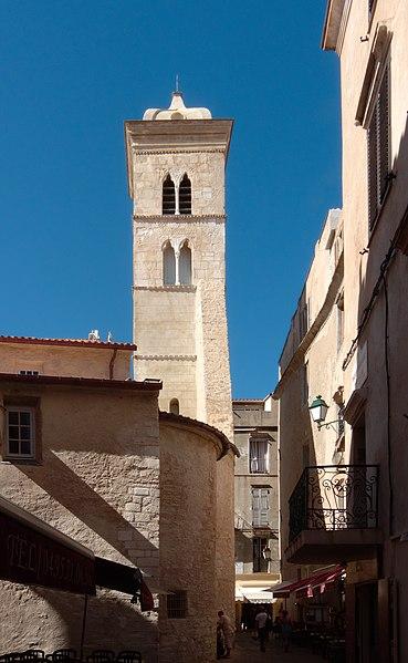 Photo du Monument Historique Eglise Sainte-Marie situé à Bonifacio