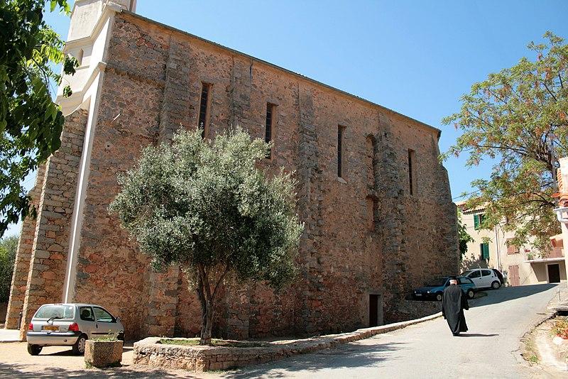 Photo du Monument Historique Eglise Saint-Spiridon dite grecque situé à Cargèse