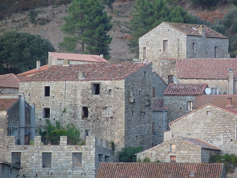 Photo du Monument Historique Tour de Colomba situé à Fozzano