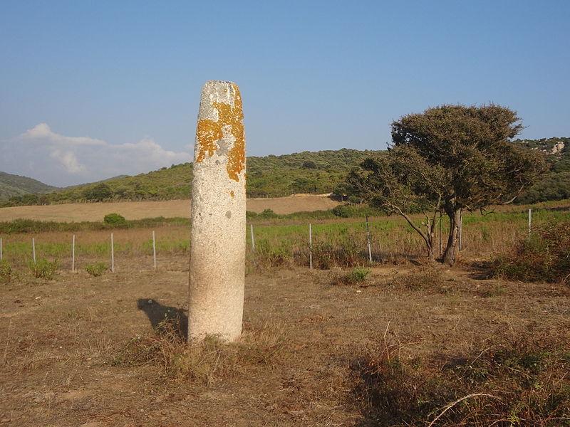 Photo du Monument Historique Menhir de Vaccil-Vecchio situé à Grossa