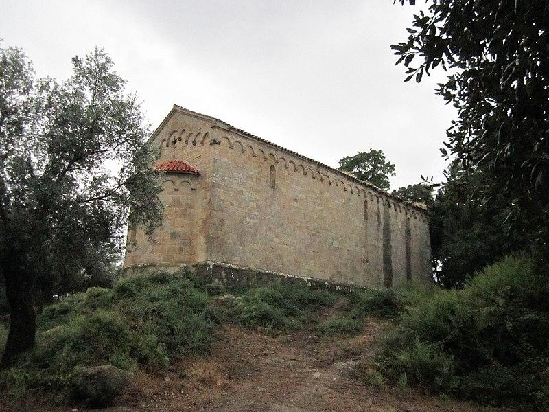 Photo du Monument Historique Ancienne église Saint-Jean situé à Sainte-Lucie-de-Tallano