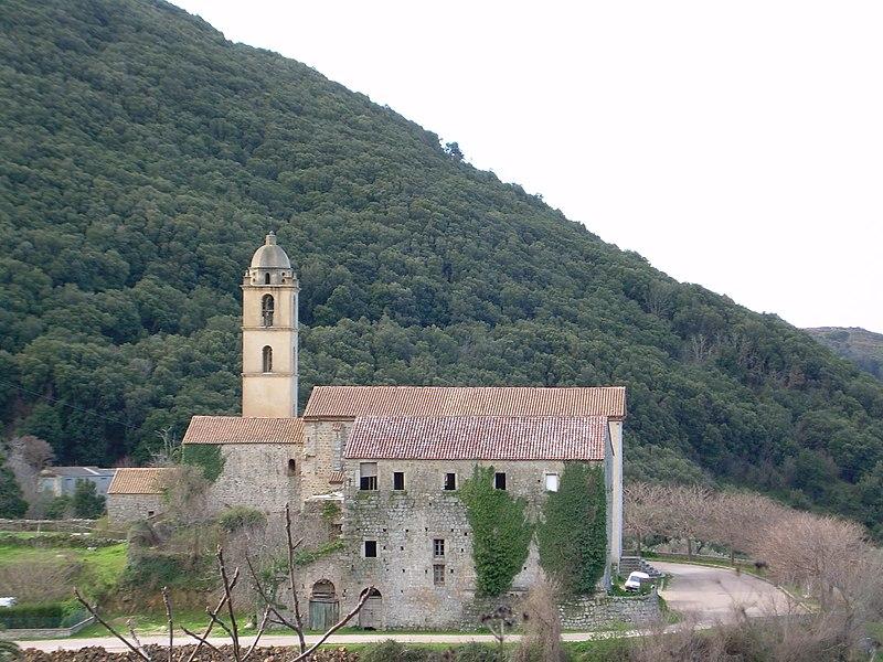 Photo du Monument Historique Couvent Saint-François situé à Sainte-Lucie-de-Tallano