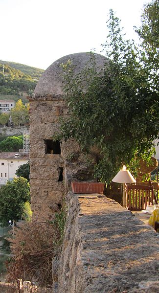 Photo du Monument Historique Echauguette et rempart attenant situé à Sartène