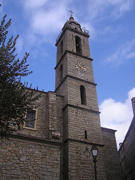 Photo du Monument Historique Eglise paroissiale Sainte-Marie situé à Sartène