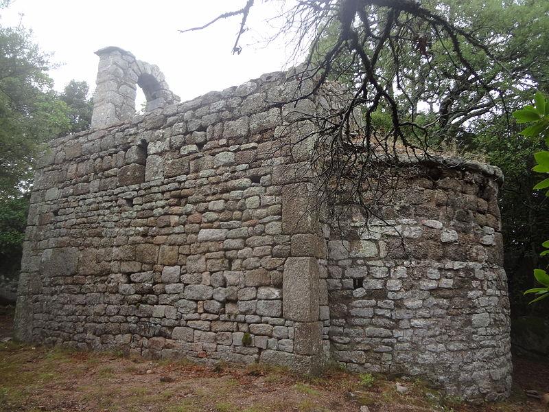 Photo du Monument Historique Ancienne chapelle San-Agostino de Chera situé à Sotta