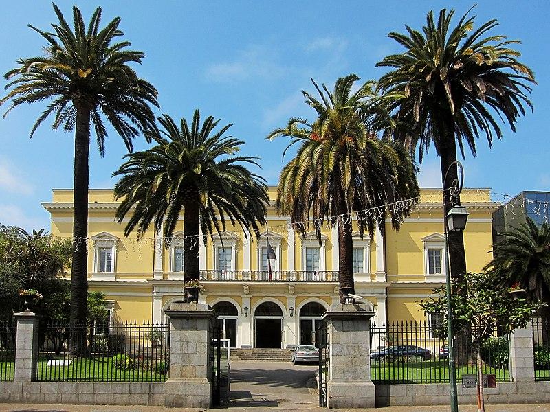 Photo du Monument Historique Palais Lantivy situé à Ajaccio