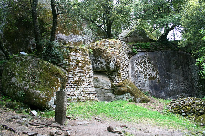 Photo du Monument Historique Site archéologique de Capula situé à Levie