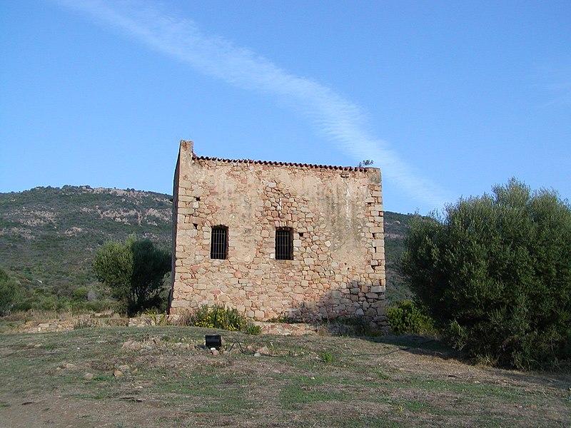 Photo du Monument Historique Ancienne cathédrale de Sagone ou cathédrale Saint-Appien situé à Vico