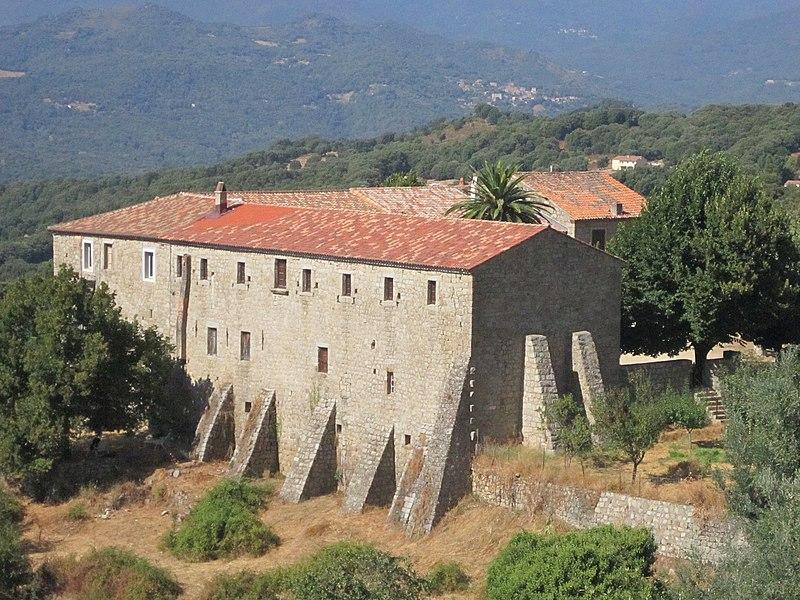 Photo du Monument Historique Couvent Saint-François-d'Istria situé à Petreto-Bicchisano