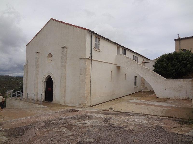 Photo du Monument Historique Ancienne église Saint-Jacques (San Giacomo, Ghjacumu) situé à Bonifacio