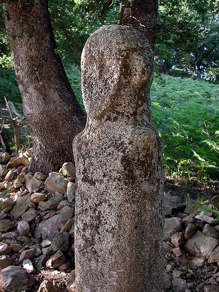 Photo du Monument Historique Statue-menhir de Tavera situé à Tavera