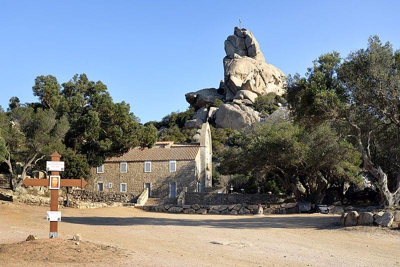 Photo du Monument Historique Chapelle de la Trinité situé à Bonifacio