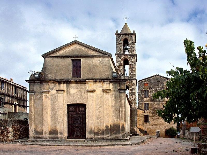 Photo du Monument Historique Eglise Saint-Marcel situé à Aléria