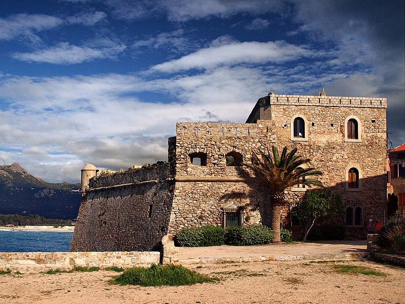 Photo du Monument Historique Château-fort situé à Algajola