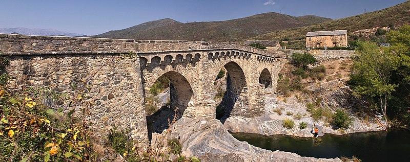 Photo du Monument Historique Pont génois sur le Tavignano situé à Altiani