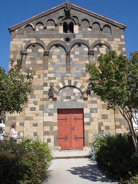 Photo du Monument Historique Eglise de la Sainte-Trinité situé à Aregno