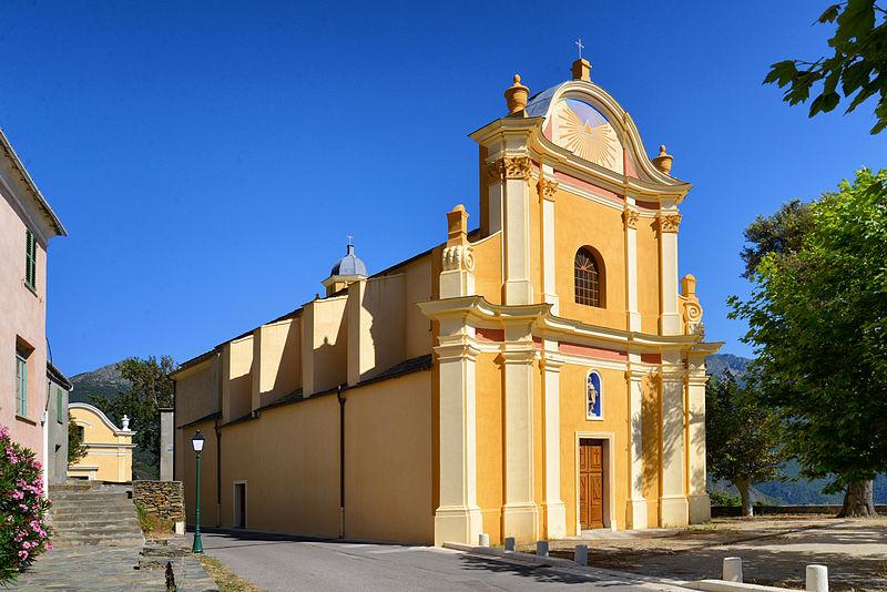 Photo du Monument Historique Eglise San Pantaleone situé à Barrettali