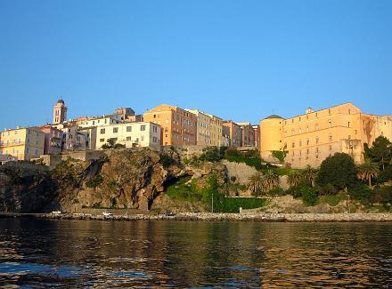 Photo du Monument Historique Citadelle et palais du Gouverneur, partiellement aménagé en Musée d'Ethnographie situé à Bastia