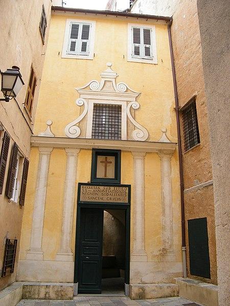 Photo du Monument Historique Eglise Sainte-Croix situé à Bastia