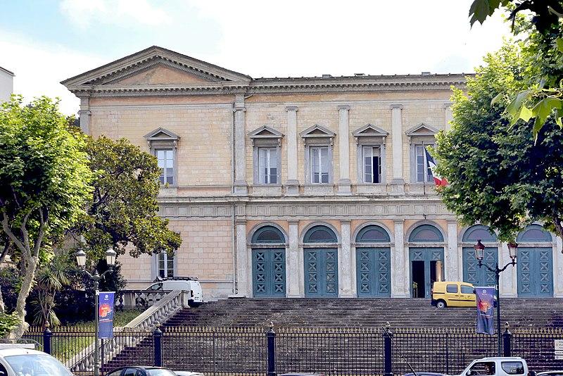 Photo du Monument Historique Palais de Justice situé à Bastia