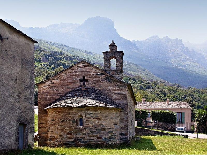 Photo du Monument Historique Chapelle Notre-Dame-des-Neiges situé à Brando