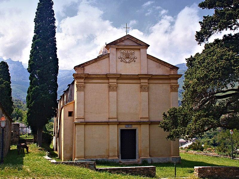 Photo du Monument Historique Chapelle Pisane attenant à l'église situé à Brando