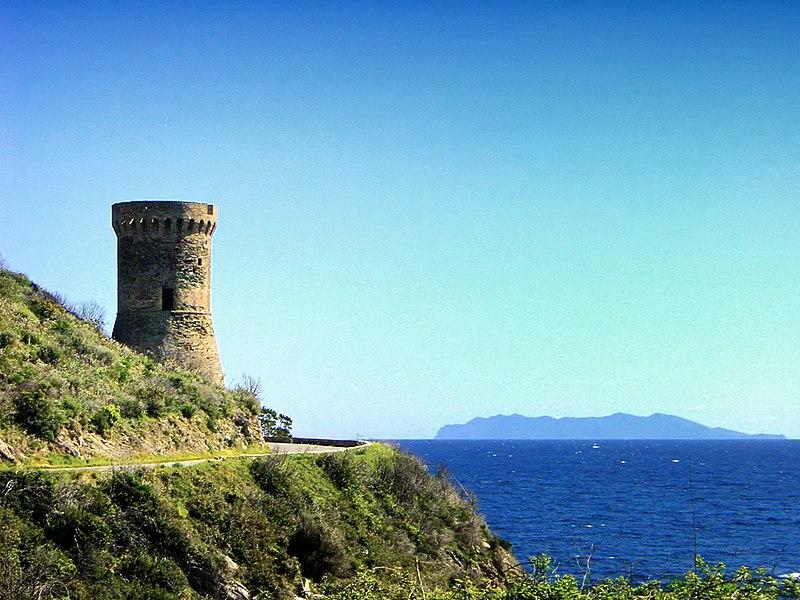 Photo du Monument Historique Tour de Losso situé à Cagnano