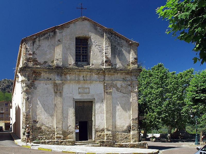Photo du Monument Historique Chapelle de la Confrérie Sainte-Croix situé à Calenzana