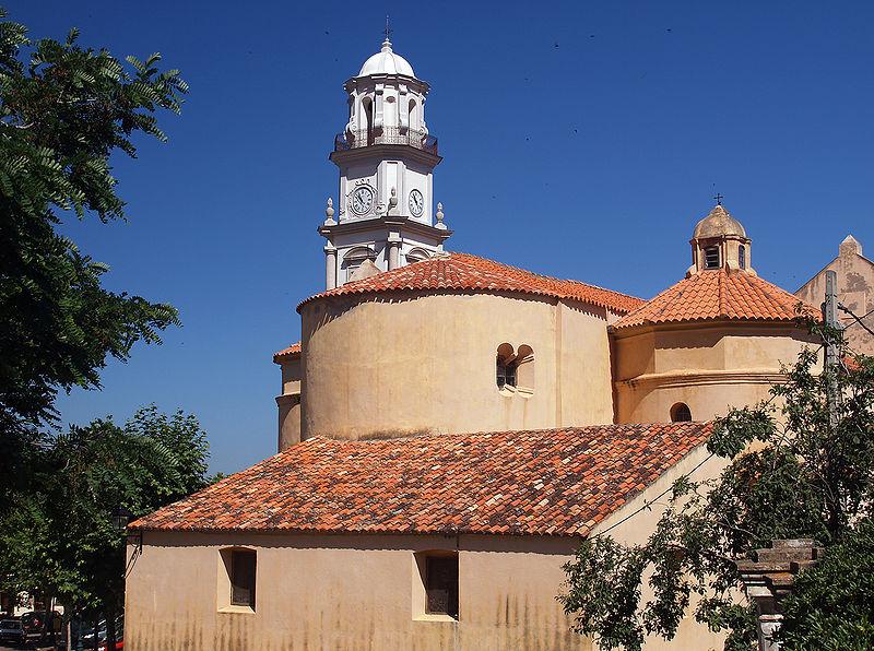 Photo du Monument Historique Eglise Saint-Blaise et Campanile situé à Calenzana
