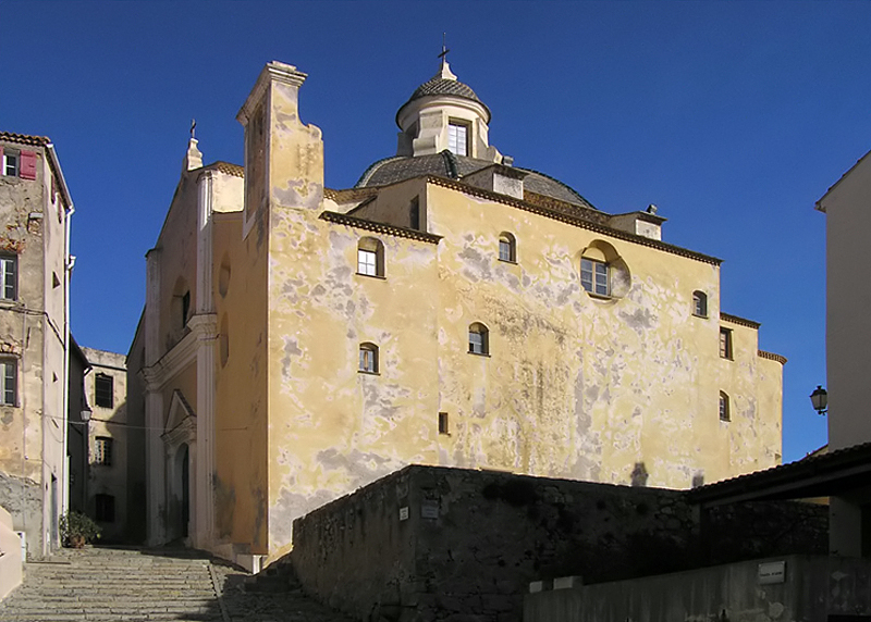 Photo du Monument Historique Eglise Saint-Jean-Baptiste situé à Calvi
